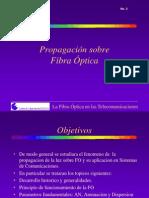 Conferencia #2 y #4. Propagacion en La FO Aplicando Teoria Del Rayo. Caracteristicas de Transmision de La Fibra.