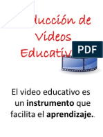 Prod. de Videos Educativos
