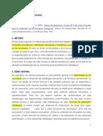 Resumen- Leney, Coles, 2004, Manual de Escenarios