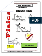 FÍSICA ELEMENTAL IV-ESTATICA DE FLUIDOS-III-BIMESTRE-2012