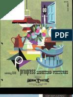 Progress Lighting Catalog 1961