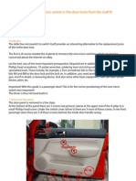 Manual Doorlock Vw