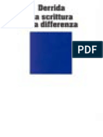 Derrida - La Scrittura e La Differenza