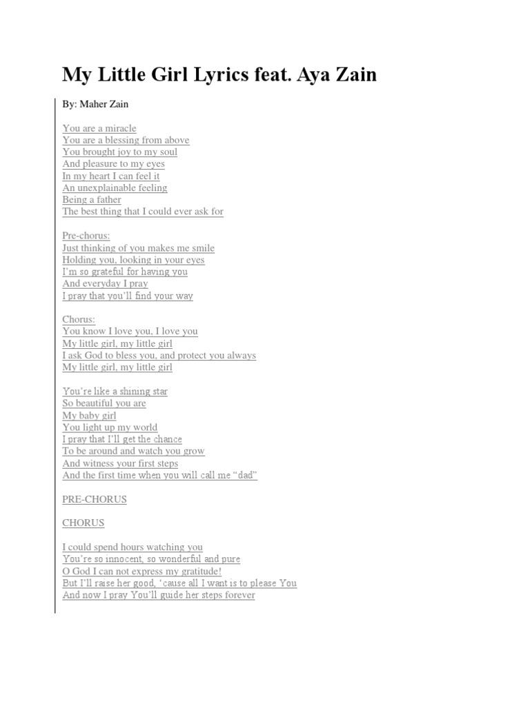 baby girl lyrics
