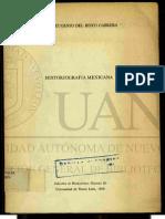 Historeografia Mexicana