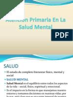 Atencion Primaria y Salud Mental