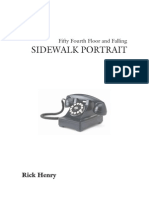Sidewalk Portrait by Richard Henry Book Preview