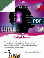 Tema El Liderazgo