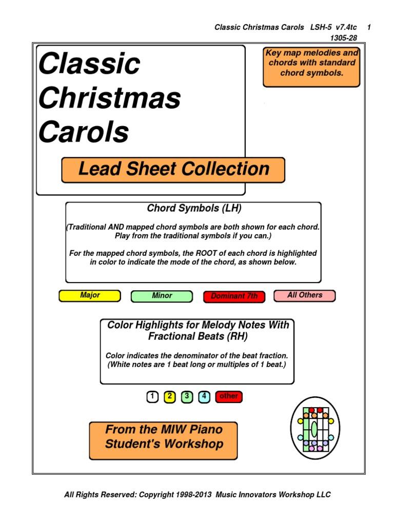 lsh 5 hymnal classic christmas carols v74tc 1305 28 christmas songs religious songs - Classic Christmas Carols