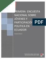 Primera Encuesta Nacional Sobre J_venes y Participaci_n Pol_tica _gora Democr_tica (Idea-nimd) 20