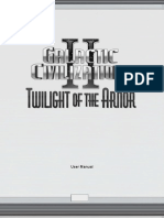 Galactic Civilizations II Manual
