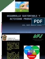 Desarrollo Sustentable y Actividad Productiva