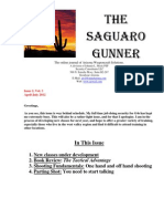 Saguaro Gunner April-July 2012