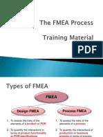 FMEA Process Training Material