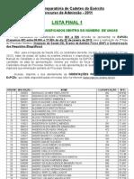 Lista Final 1 11