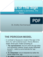 Models of the Sign Peirce