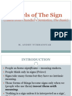 Models of the Sign Saussure