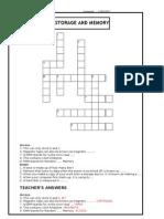 Crossword Memory Devices