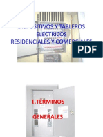 1- DISPOSITIVOS Y TABLEROS ELECTRICOS