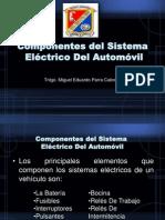 Componentes Del Sistema ELECTRICO