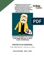 Proyecto DE PRIMEROS AUXILIOS