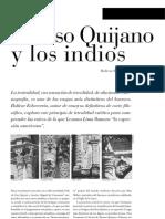 Alonso Quijano y Los Indios