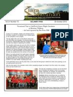 RCBKS Bulletin Vol 21 No 15