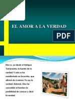 EL AMOR A LA VERDAD