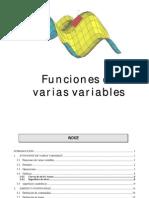 Capitulo 2 Funciones de Varias Variables Parte 1