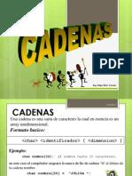 5 Cadenas C++