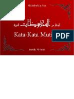Buku Kata-Kata Mutiara (Mahfudhat)