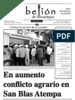 semanario la Rebelión de Tehuantepec núm. 31