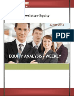 Weekly Newsletter-equity 22oct2012