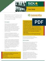 Case Study - Nexenta