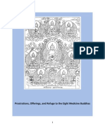 Prostrations, Offerings, and Refuge to the Eight Medicine Buddhas (Booklet Format)