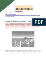 Padma Bridge loan revival — a good lesson