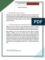 ESPECIES ENDÉMICAS _actividad 1