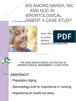 The Links Among Nanda, Nic and Noc in Gerontological Assessment a Case Study