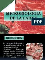 Microbiologia de La Carnee