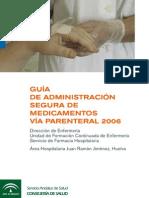 Guía Administración Segura de Medicamentos