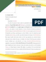 Carta a Diosdado Cabello - AsambleaNacional