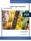 Daily AgriCommodity Newsletter 22-10-2012