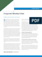 Corporate Identity Crisis
