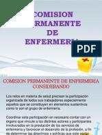 Comision permanente de enfermeria Exposicion
