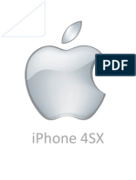 iPhone 4SX Marketing Plan