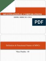 MNC's
