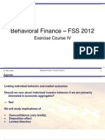 behav finance notes