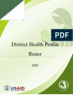 District Health Profile Buner