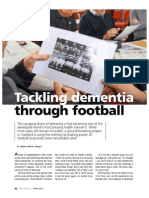 Fifa World Tackling Dementia Through Football