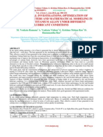 Experimental investigations, optimization of process parameters and mathematical modeling in turning of titanium alloy under different lubricant conditions